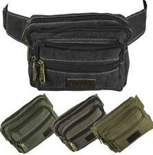 Canvas Unbranded Bags & Briefcases for Men with Adjustable Strap