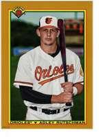 Adley Rutschman 2020 Bowman 1990 Bowman 5x7 Gold #90B-AR /10 Orioles