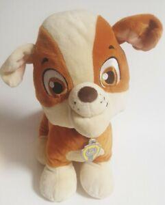 Build A Bear Paw Patrol Rubble Plush Collar Stuffed Animal Nickelodeon Dog BABW