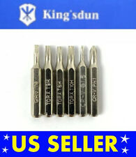 6PC Tool Kit for PS1 PS2 PS3 PS4 PRO PSP Playstation consoles screwdriver Bits