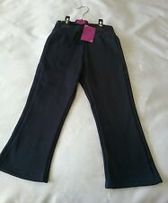 Girls brand new John Lewis navy blue jogging bottoms size 3/4