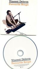 "RENAUD SECHAN CD ALBUM PROMO ""FAVORITE SONGS"" VINCENT DELERM 2007 ++ RARE ++"