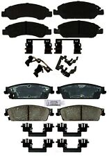 Front & Rear Ceramic Brake Pad Kit ACDelco for Chevy Tahoe 08-10 Police Package