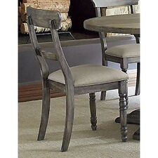 Progressive Furniture P836-61 Ladderback Chair (2/Ctn) - Dove Grey NEW