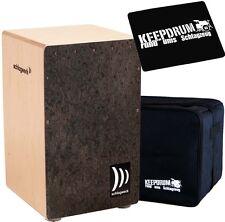Planta de golpe 4007 CP la perú Cajon raíces de madera + KEEPDRUM gig bag + cp-01 Pad