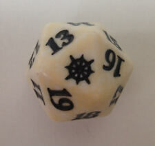 WHITE Ixalan Spindown Dice - Plains D20 MTG Life Counter 20 Sided