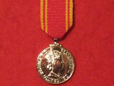 Miniature Fire Brigade Long Service Good Conduct LSGC Medal - NEW