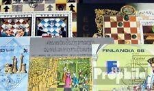 Thematics 5 différents échecs blocs