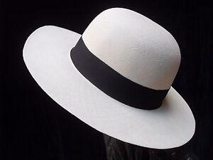 Pavita Straw Panama Hat - EXTRA FINO All Sizes - [Montecristi - Ecuador]
