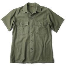 Rare OG-507 Vietnam Era USAF Durable Press Short Sleeve Utility 14.5 X 33 Shirt