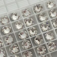 Swarovski Crystal Glue on 20 x SS34 Clear diamond colour diamantes rhinestones