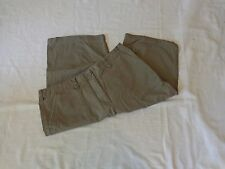 NEW YORK & CO Mid-Rise Army Green Capri Cropped Pants - Size 12 DEAL!