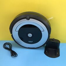 iRobot Roomba 690 Robotic Cleaner Gray/Black Vacuum + base #dent690