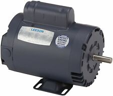 Leeson Electric Motor 110161.00 1.5 HP 3450 Rpm 1PH 115/230 Volt 56 Frame