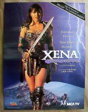 poster XENA WARRIOR PRINCESS Lucy Lawless Renee O'Connor Sam Raimi Hercules