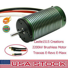 Castle 1515 Creation Brushless Motor For Traxxas E-Revo E-Maxx P2 2200kV For 1:8