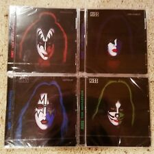 KISS - 4 SOLO RELEASES - ACE FREHLEY, GENE SIMMONS, PAUL STANLEY, PETER CRISS CD