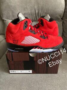 Nike Air Jordan 5 Retro Raging Bull Red (2021) Size 13 with Receipt DD0587-600