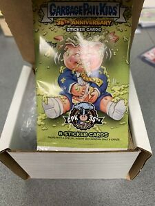 2020 Garbage Pail Kids 35th Anniversary Complete Yellow Phlegm Set