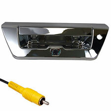 Ford Chrome Tailgate Backup Camera Handle F150 (2015+)  Color CCD
