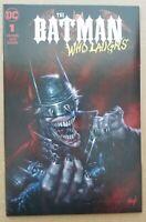 Batman Who Laughs #1 Comic - Lucio Parrillo Trade - Dark Nights Metal 500 Print