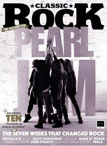 Classic Rock Magazine Summer 2021 Issue 290 : Pearl Jam 30 Years