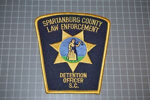 Spartanburg County South Carolina Detention Officer Patch (B17-A21)