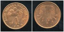 MALAISIE 1 sen 2007  ( bis )
