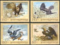 Hungary 2012 Raptors/Eagles/Falcon/Birds/Nature/Wildlife/Conservation 4v n45769