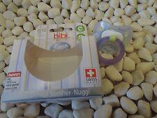 Schnuller Hase von Bibi 6-12 Monate Swiss Dental Soother Nuggi
