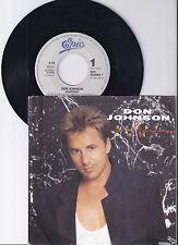 "Don Johnson, Heartbeat, VG/VG+ 7"" Single 0980-3"