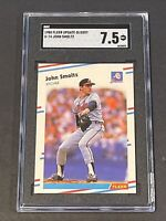 1988 Fleer Update Glossy John Smoltz RC SGC 7.5 Rookie Grossly Undergraded PSA ?