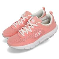 Skechers Liv-Speed Strobe Coral White Women Running Shoes Sneakers 88888193-CRL