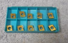 INGERSOLL     CARBIDE INSERTS     CDE 323 L05    GRADE 555 S     PACK OF 10
