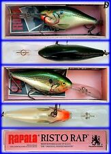 Vintage Rapala Risto Rap 7cm GSD Neu in Box, Made in Irland sehr selten