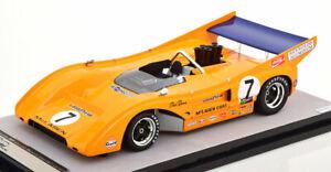 Tecnomodel MCLAREN M8F Watkins Glan Can-Am Winner 1971 Revson #7 1/18 LE120 New!