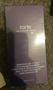 Tarte Amazonian Clay 12 Hour Full Coverage Foundation SP15  50 ml check pic
