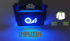 BLUE LED Ford BA BF XR8 XR6 TURBO TRACTION CTONTROL Switch Replacement Globe