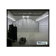 Steel Factory Mfg 30x35x15 Residential P-Series Garage Building Workshop Kit