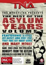 TNA Wrestling Best of the Asylum Years Vol 1 NEW/SEALED (DVD, 2-Disc Set) R4