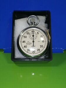 """Analogue Stopwatch Mechanical """" Agat """" - 1 Crown Stopper from USSR"""
