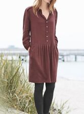 A15# Wrap Emilia Dress In Raisin Colour Size UK 18 RRP £139