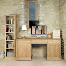 Oak Modern Home Office Furniture without Assembly Required