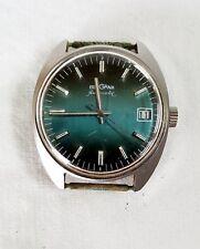 Armbanduhr Herren BERGANA vintage Automatic Datumsanzeige Uhr 60er Jahre