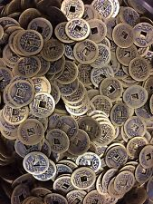 100 Pieces Brass Lucky coins Chinese ancient Chinese coins Fengshui