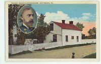 General Meade's Headquarters GETTYSBURG PA Civil War Battlefield Postcard