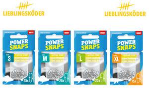 Power Snaps - Gr. S bis XL - Lieblingsköder