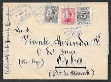 Spain covers 1932 Journalwrapper Agreda to Piba