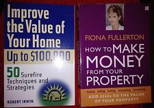 2 Book Bundle - Subject: Property Development/Improving the Value of Your Home