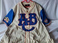 Negro League Baseball Museum Atlanta Black Crackers Jersey  Size 4XLg